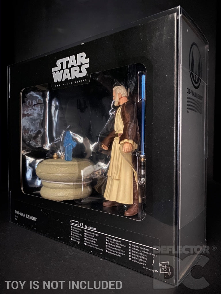 Star Wars The Black Series 6 Inch SDCC 2016 Obi-Wan Kenobi Display Case