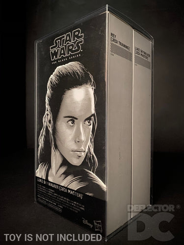 Star Wars The Black Series 6 Inch SDCC 2017 Luke & Rey Display Case
