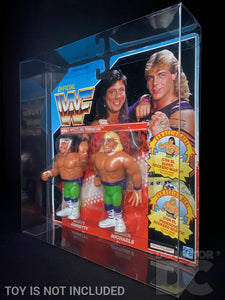 WWF Hasbro Tag Team Figure Display Case