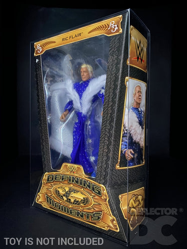 WWE Defining Moments Figure Display Case