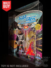 Load image into Gallery viewer, Star Trek The Next Generation Figure Display Case