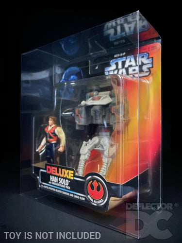 Star Wars The Power of the Force Deluxe Figure Small Display Case