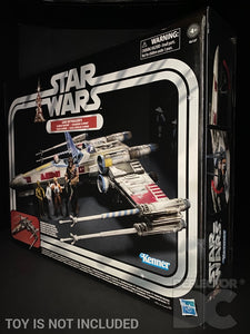 Star Wars The Vintage Collection Luke Skywalker's X-Wing Fighter Display Case