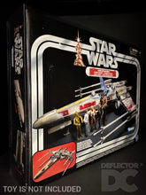 Load image into Gallery viewer, Star Wars The Vintage Collection Luke Skywalker's X-Wing Fighter Display Case