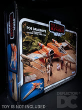 Load image into Gallery viewer, Star Wars The Vintage Collection Poe Dameron's X-Wing Fighter Display Case