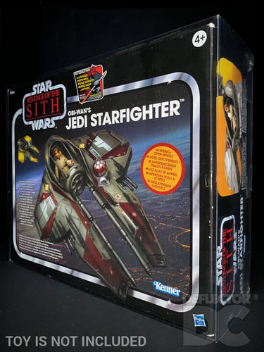 Star Wars The Vintage Collection Obi-Wan's Jedi Starfighter Display Case