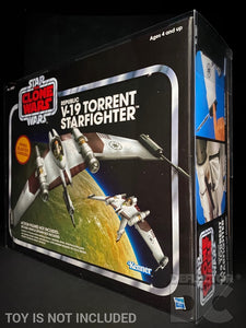 Star Wars The Vintage Collection Republic V-19 Torrent Starfighter Display Case