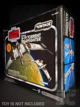 Load image into Gallery viewer, Star Wars The Vintage Collection Republic V-19 Torrent Starfighter Display Case