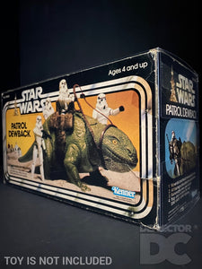 Star Wars Vintage Patrol Dewback Display Case