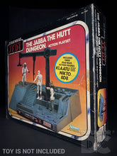 Load image into Gallery viewer, Star Wars Vintage The Jabba The Hutt Dungeon Action Playset Display Case