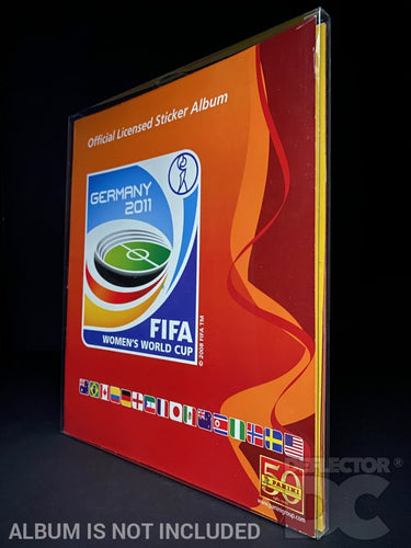Panini Football Women's World Cup Album Display Case