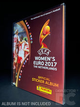 Load image into Gallery viewer, Panini Football Women's Euro Album Display Case
