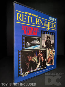 Topps Star Wars The Return Of The Jedi Sticker Album Display Case