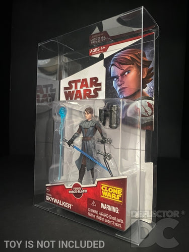 Star Wars The Clone Wars 3.75 Inch Figure Display Case