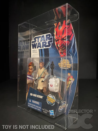 Star Wars The Clone Wars 2012 3.75 Inch Figure Display Case