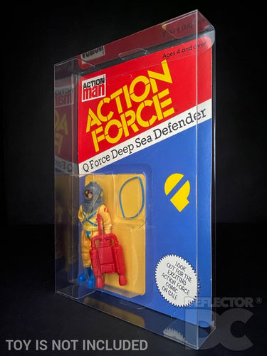 Action Man Action Force Figure Display Case