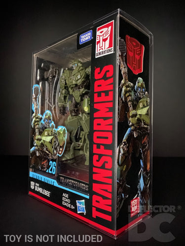 Transformers Generations Studio Series Deluxe Class Display Case