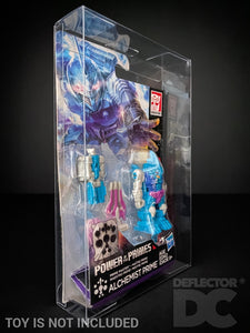 Transformers Generations Power of the Primes Prime Master Display Case