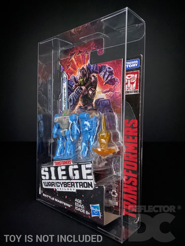 Transformers Generations Siege War for Cybertron Battle Master Display Case