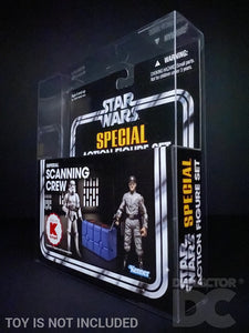 Star Wars The Vintage Collection Imperial Scanning Crew Display Case