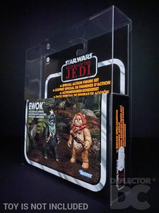 Star Wars The Vintage Collection Ewok Scouts Display Case