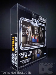 Star Wars The Vintage Collection Death Star Scanning Crew Display Case