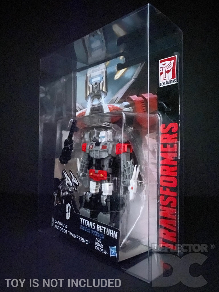 Transformers Generations Titans Return Deluxe Class Display Case