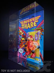 The Space Adventures of Bucky O'Hare Figure Display Case