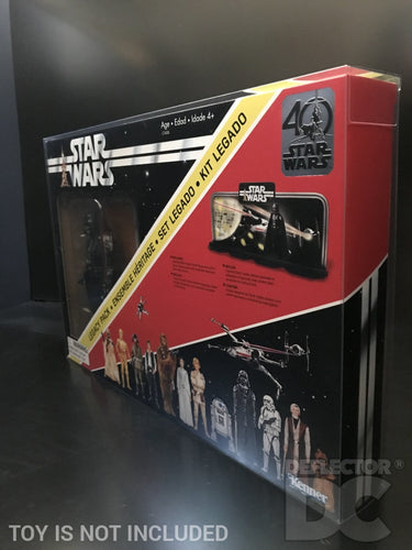 Star Wars 40th Anniversary Legacy Pack Display Case