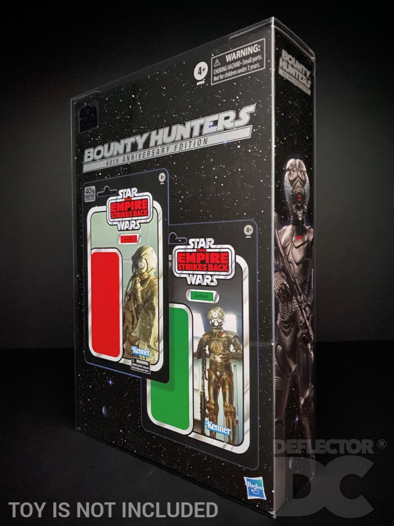 Star Wars TESB 40th Anniversary Bounty Hunters Display Case