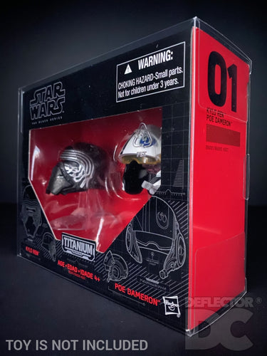 Star Wars Titanium Series Helmet Display Case