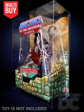 Load image into Gallery viewer, Masters of the Universe Mattel Classics Display Case