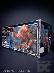 Star Wars Vintage Rancor Monster Figure Display Case