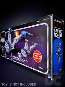Star Wars The Vintage Collection B-Wing Fighter Display Case