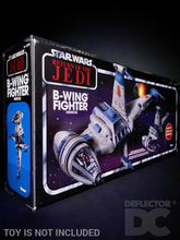 Load image into Gallery viewer, Star Wars The Vintage Collection B-Wing Fighter Display Case