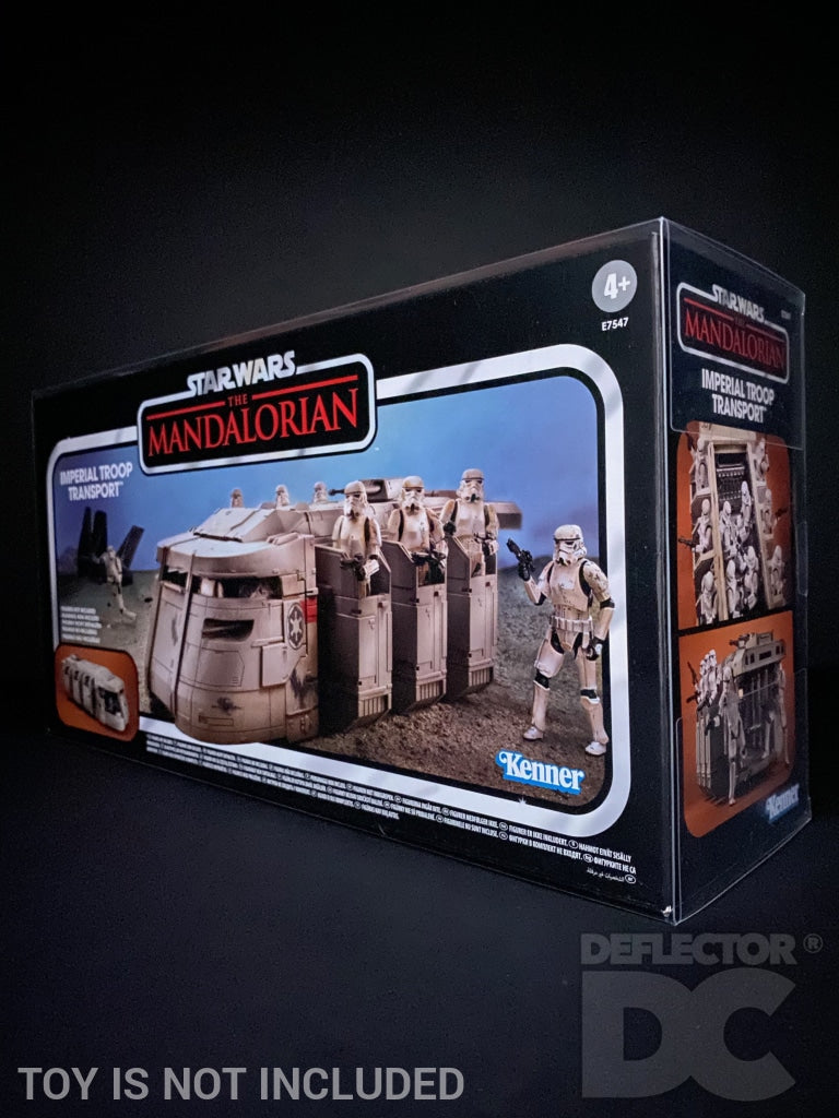 Star Wars The Vintage Collection Imperial Troop Transport Display Case