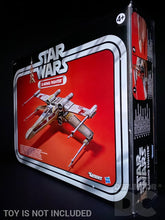Load image into Gallery viewer, Star Wars The Vintage Collection X-Wing Fighter Display Case