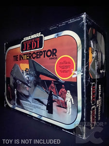 Star Wars Vintage Tie Interceptor Vehicle Display Case