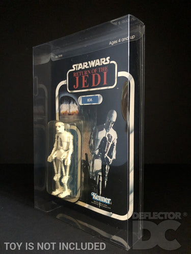 Star Wars 1977-1985 Vintage 3.75 Inch Figure Protective Display Case eBay