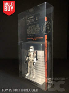 Star Wars the Black Series Orange Wave 3.75 Inch Figure Display Case