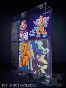 The Real Ghostbusters Vintage Figure Display Case