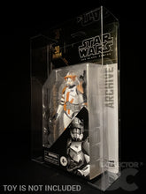 Load image into Gallery viewer, Star Wars The Black Series Archive Collection Figure Display Case