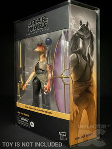Star Wars The Black Series Deluxe Jar Jar Binks Figure Display Case