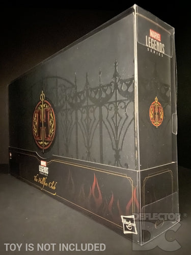 Marvel Legends Hellfire Club Collection Figure Display Case