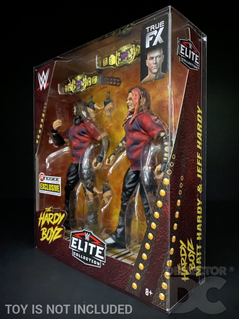 WWE Elite Collection Series Hardy Boyz Figure Display Case