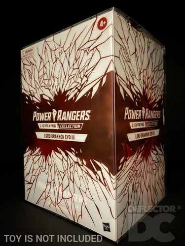 Power Rangers Lightning Collection Lord Drakkon Evo III Display Case