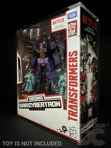 Transformers Netflix War for Cybertron Voyager Class Display Case