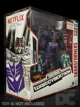 Load image into Gallery viewer, Transformers Netflix War for Cybertron Voyager Class Display Case