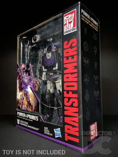 Transformers Generations Power of the Primes Leader Class Display Case