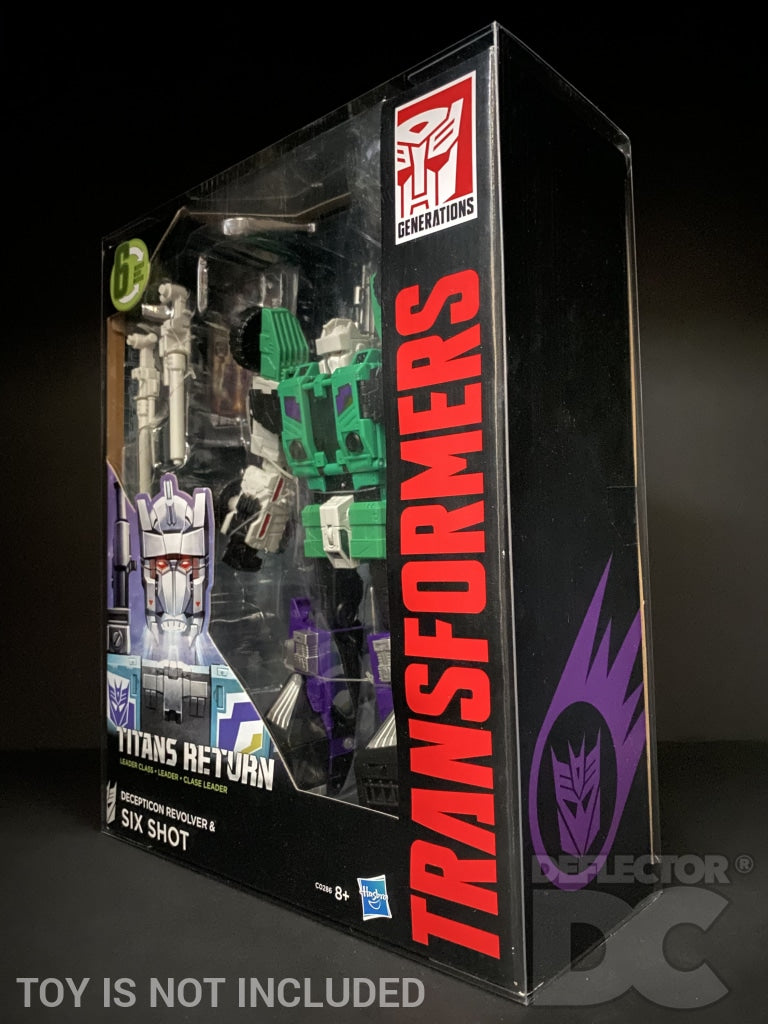 Transformers Generations Titans Return Leader Class Display Case